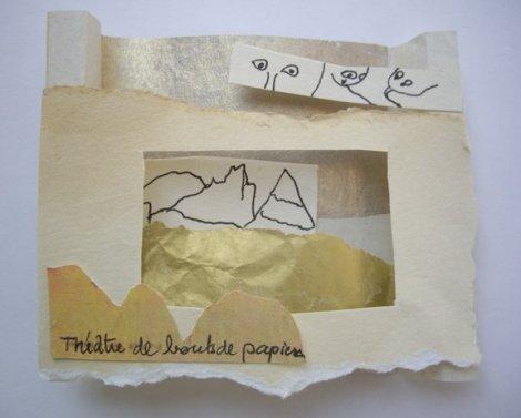 Théâtre de bouts de papier