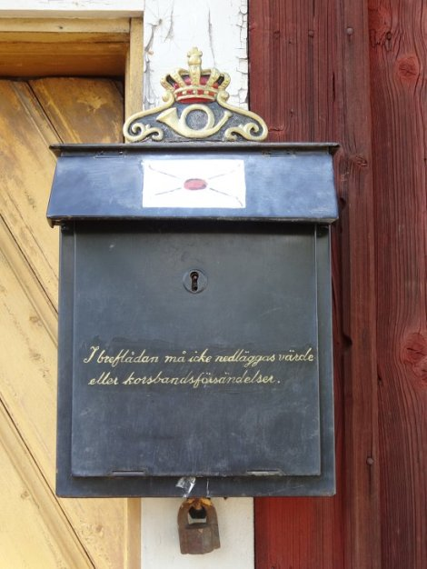 Boites lettres Suède