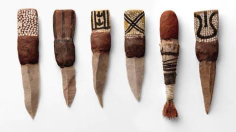 couteaux aborigènes