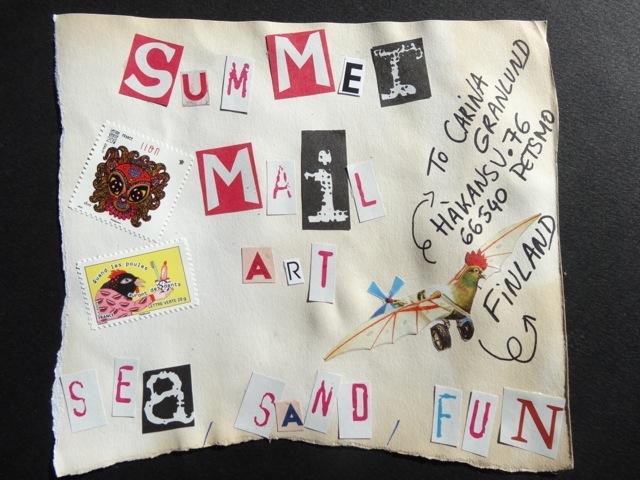 2014 08 summer mail art 1