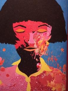 painture de Yayoy Kusama